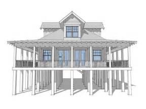 Small Beach House Floor Plans