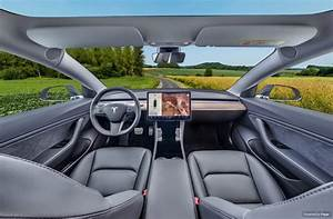 Tesla Model 3 Interieur in 360 graden Virtuele Tour · Poppr
