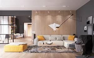 Fascinating Scandinavian Living Room Designs Combined With