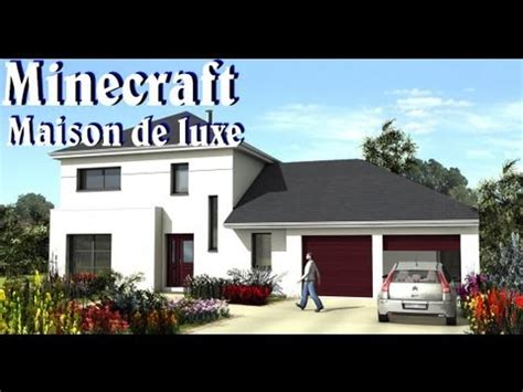 minecraft maison de luxe facile a faire