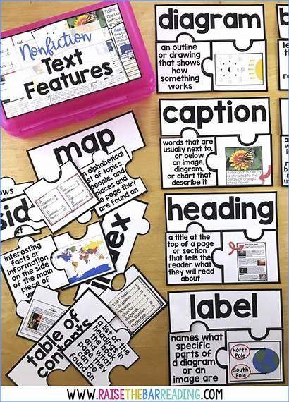 Text Features Nonfiction Practice Reading Grade Activities