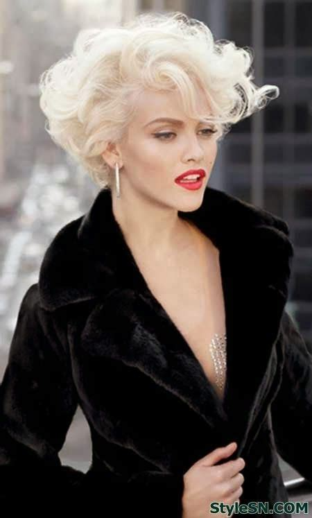 root perm hairstyles  women  short hairstyles