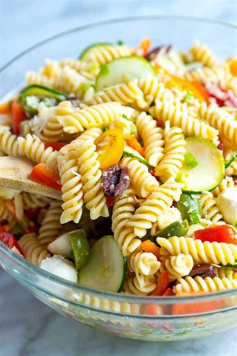quick and easy pasta salad recipe