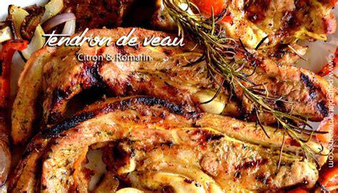 cuisiner le tendron de veau tendron de veau citron romarin au barbecue petits