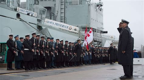 royal canadian navys support ships retired