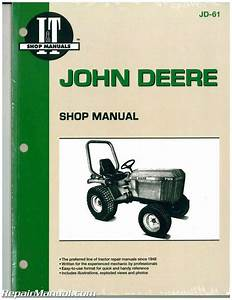 John Deere 655 755 756 855 856 955 Tractor Workshop Manual