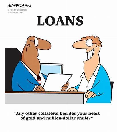 Cartoons Banking Money Bank Loan Credit Banks