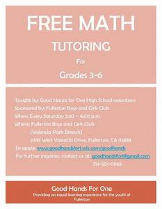tutoring flyer example driverlayer search engine With math tutoring flyer template