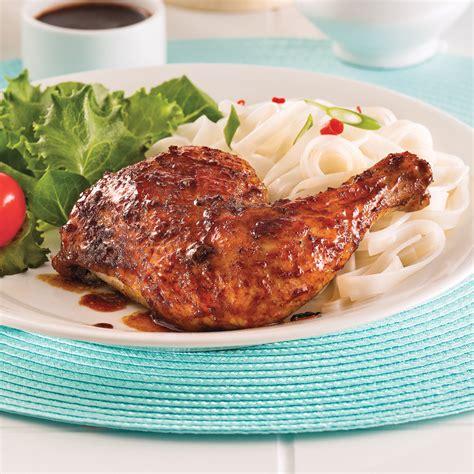 cuisiner les cuisses de poulet cuisses de poulet laquées soupers de semaine recettes