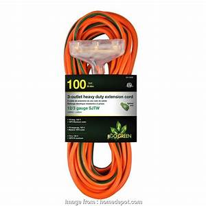 12 Gauge Wire On 15  Outlet Creative Go Green Power  Ft  3