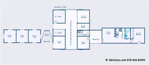 damis pole barn living quarter plans