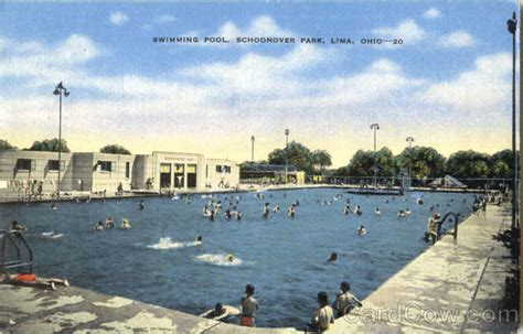 Swimming Pool , Schoonover Park Lima, OH