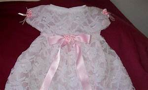 robe de bapteme blanche et rose all pictures top With robe blanche bapteme