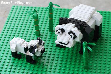 Lego Panda Bear Building Instructions