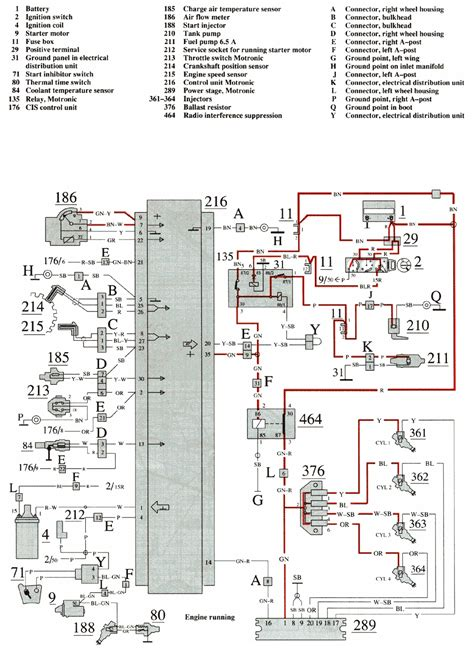 1989 Volvo 240 Wiring Diagram by Volvo 740 1989 Wiring Diagrams