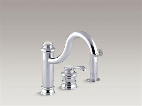 kohler kitchen sink faucet kohler purist single kitchen faucet 6690