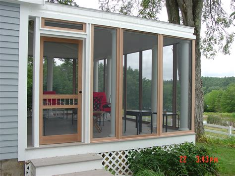 tips to install enclosed screen porch