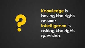 Intelligence vs. Knowledge HD Wallpaper » FullHDWpp - Full ...