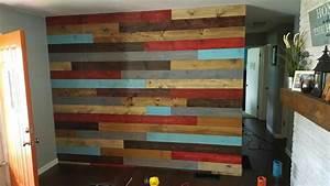 Multi, Color, Pallet, Board, Wall