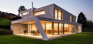 Haus Aus Beton : ein diamant aus glas und beton traumhaus ~ Lizthompson.info Haus und Dekorationen