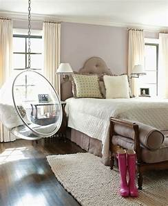 32, Interior, Designs, With, Hanging, Bubble, Chair