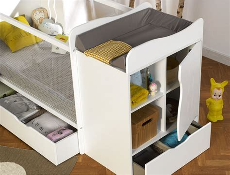 chambre bébé évolutive blanc belem chambre