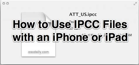 how to undisable an iphone without itunes use ipcc files with ios devices by enabling carrier