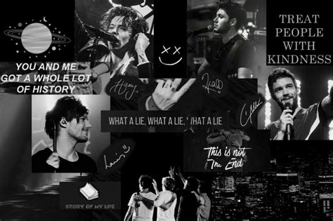 one direction desktop wallpaper one direction collage