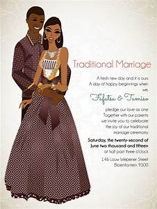 10 african wedding invitations designed perfectly With affordable wedding invitations south africa