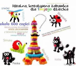 MEGA ZESTAW Bunchems Kolorowe RZEPY 600 El HIT Kielce