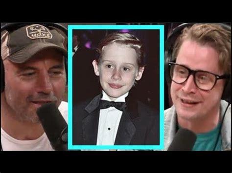 "Joe Rogan  Macaulay Culkin ""i'm Very Lucky!"" Youtube"