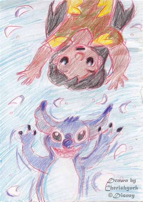 Cherishyork Fan Art Friday Lilo Stitch Disney