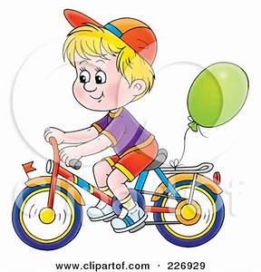 Boy Riding Bikes Clipart - Clipart Suggest