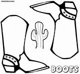 Boots Coloring Pages Print Colorings sketch template