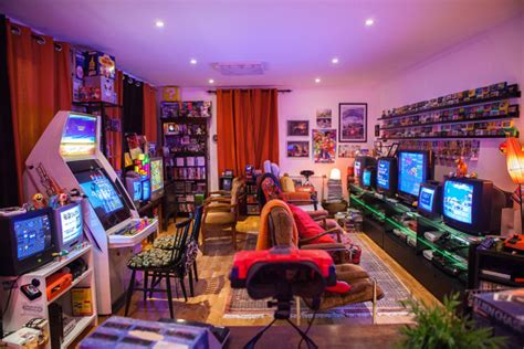 22 Insanely Awesome Video Game Rooms Thatll Make Your