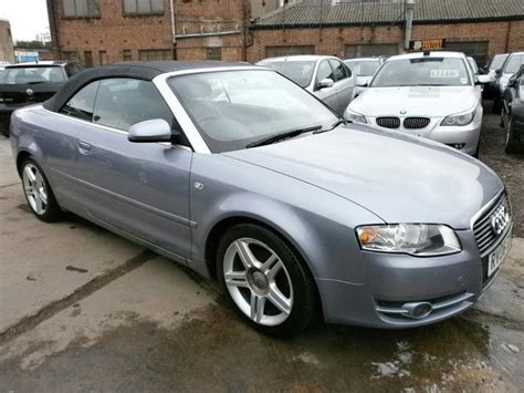 convertible audi used used audi a4 2006 diesel 2 0 tdi sport 2dr convertible