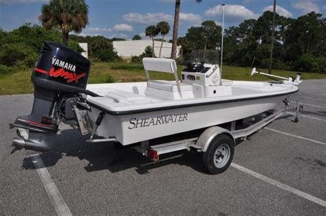 Shearwater Boats Manufacturer by 2003 Shearwater 2000 Bay Boat Cc Boats Yachts For Sale