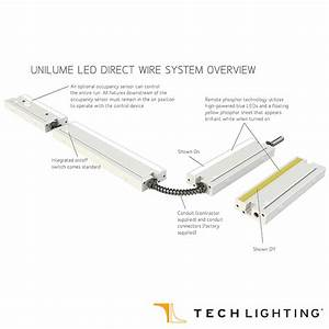 Unilume Led Direct Wire Undercabinet Light