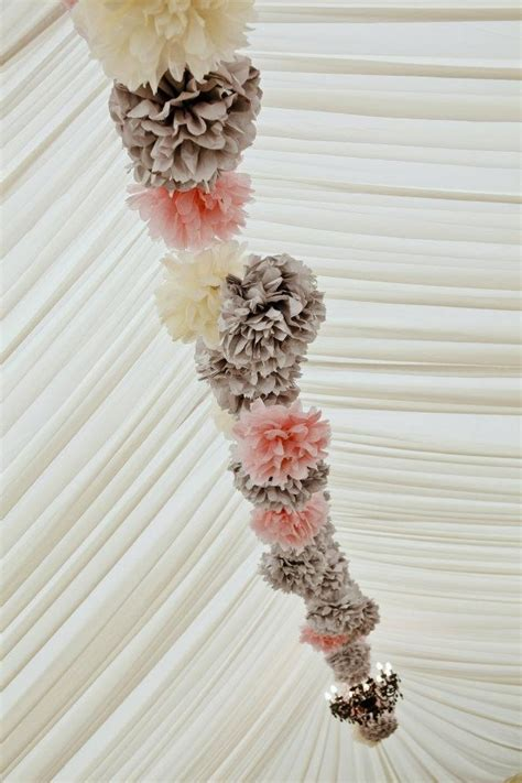1000 images about wedding decorations on pom pom wedding pom poms and paper lanterns