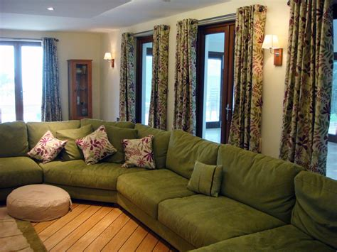 Green Living Room Sets : Beautiful Living Room Sets, Living Room With Green Sofa