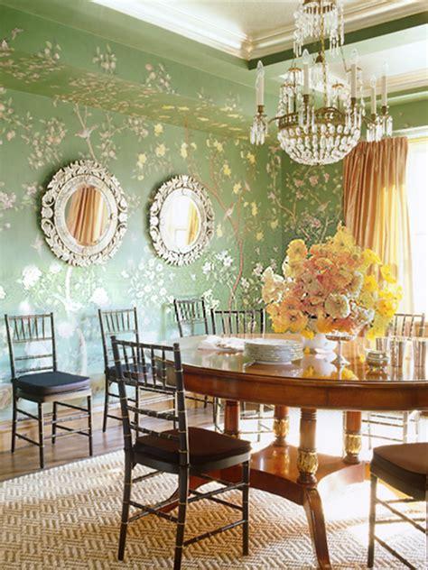 modern chinoiserie  interior design