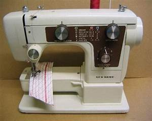 New Home Janome 641 Sewing Machine Instruction Manual