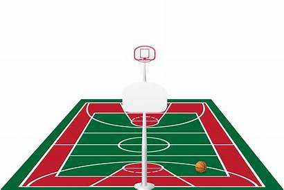 Basketball Court Vector Illustration Clipart Graphics Vectors