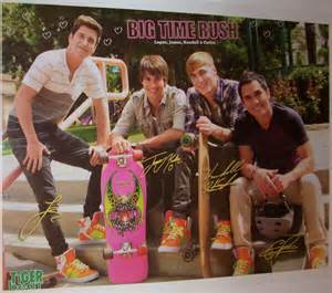 Big Time Rush Kendall and Logan