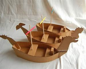 creative ideas for you how to make a cardboard pirate ship With cardboard pirate ship template