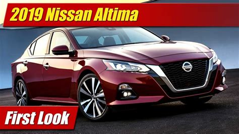 First Look 2019 Nissan Altima Testdriventv