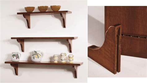 mensole in legno arte povera pensili e piattaie mensola cm 80 in legno massiccio