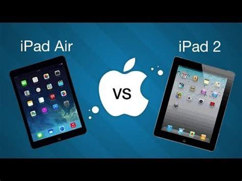 ipad air  ipad  comparatif design ecran rapidite
