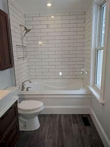 41, Gorgeous, Small, Bathroom, Remodel, Bathtub, Ideas