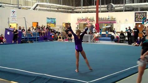 gymnastics level 7 floor routine 2011 youtube